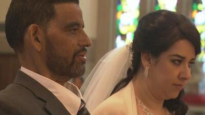 """""""En las buenas y en las malas"""", esta pareja se casó a pesar de que a él le quedaban días de vida"""