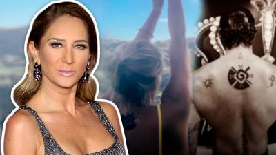 Así reaccionó Geraldine Bazán al tatuaje que ahora comparten Gabriel Soto e Irina Baeva