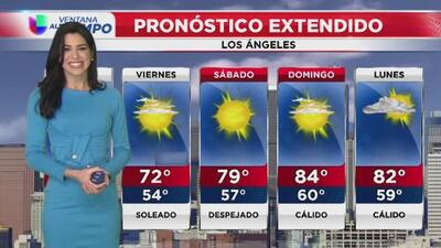 Brisas leves y cielos mayormente nublados, el pronóstico para este jueves en Los Ángeles