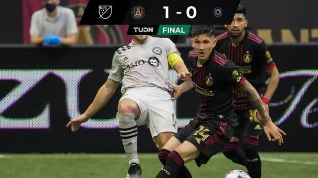 Con dramático gol de Marcelino Moreno, el Atlanta de Heinze regresó al triunfo