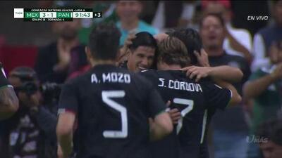 ¡GOOOL! Rodolfo Pizarro anota para Mexico