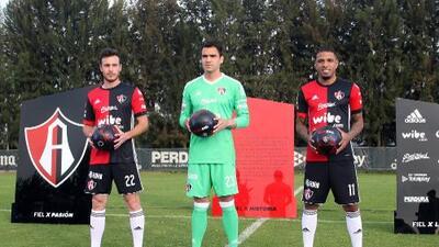 Atlas presentó a sus refuerzos para el Clausura 2018