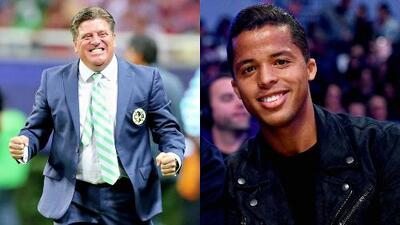 Miguel Herrera ve con buenos ojos la posible llegada de Giovani dos Santos al América