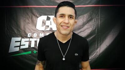 """El mexicano Erick 'Goyito' Pérez, """"feliz y listo"""" para debutar en Monterrey con Combate Américas"""