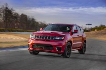 La Jeep Grand Cherokee Trackhawk 2018 es un Hellcat convertido en todoterreno