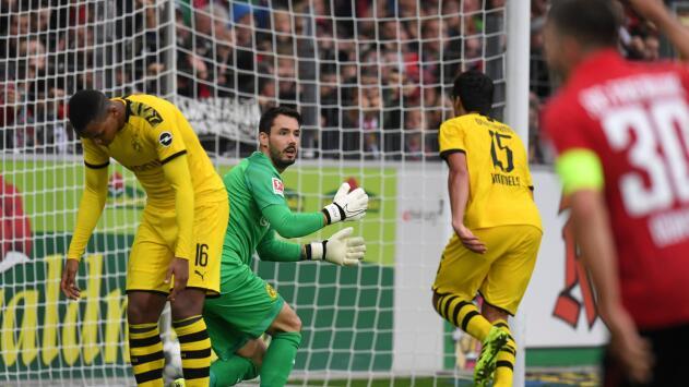 Freiburg 2-2 Borussia Dortmund