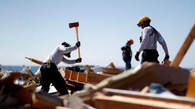 Búsqueda contrarreloj: decenas de personas continúan desaparecidas en la 'zona cero' del huracán Michael