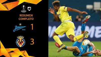 Zenit 1-3 Villarreal - GOLES Y RESUMEN - IDA - OCTAVOS DE FINAL - UEFA Europa League