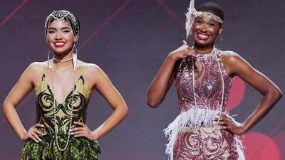 Andrea Bazarte y Ceylin Rosario fueron las nominadas de la segunda gala de Nuestra Belleza Latina 2018