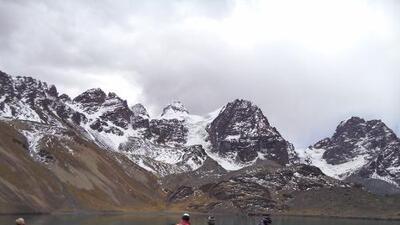 Los glaciares bolivianos van en franco retroceso