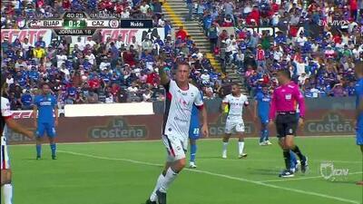 ¡GOOOL! Leonardo Ramos anota para Lobos BUAP