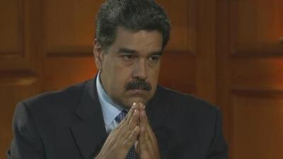 """Maduro asegura que Guaidó tendrá que """"ver la cara de la justicia"""" tras haber salido de Venezuela"""