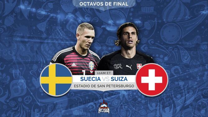 ¡Del repechaje a octavos de final! Suecia y Suiza buscan mantenerse en el Mundial