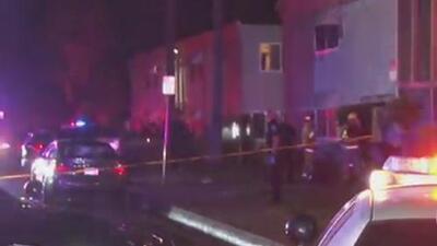 Investigan si un juego de dados provocó la balacera en un edificio de San Bernardino
