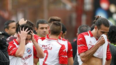 Argentino Juniors se va a la segunda división en Argentina