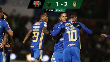 Tigres vence a Juárez y va por América en liguilla