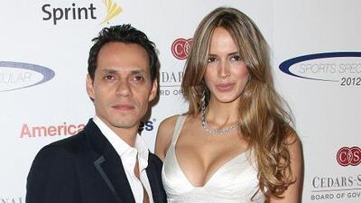 ¡Al fin! Marc Anthony y Shannon de Lima se casaron