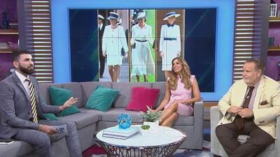 Jomari Goyso explica por qué los looks de Melania Trump, Lady Di y Meghan Markle no se parecen uno al otro