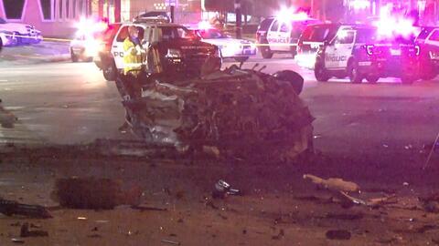 Con el 50% de su cuerpo quemado, uno de los oficiales heridos en accidente de Houston lucha por su vida