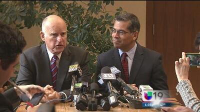 Jerry Brown anuncia al nuevo fiscal estatal