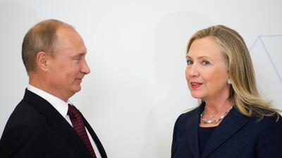 El video de Clinton contra Trump que le puede complicar su relación con Putin