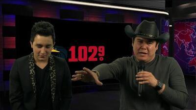 102.9 FM entrevista a Kevin Ortiz!
