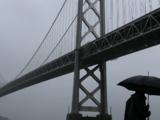 Frente frío trae la segunda ronda de lluvias al Área de la Bahía