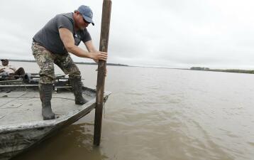 El río Mississippi desbordado: las mayores inundaciones desde el 'Gran Diluvio' de 1927 (fotos)