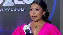 Yalitza Aparicio confiesa si después de debutar en los Latin GRAMMY como presentadora lo volvería a hacer