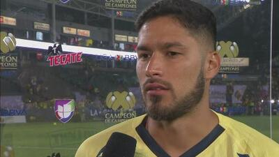 Bruno Valdez resaltó la ambición que tiene el América de ganar títulos