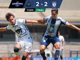 Pachuca perdona y Pumas rescata un empate en solo tres minutos