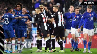 Llega la jornada 12 en la Premier League y el Arsenal cae frente al Leicester City