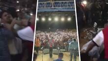 """""""Trancazos, botellazos, sillazos"""": Video muestra pelea durante el concierto de Grupo Firme en Florida"""