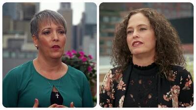 Estas dos hermanas relataron la dura experiencia que vivieron al abandonar su país siendo unas niñas