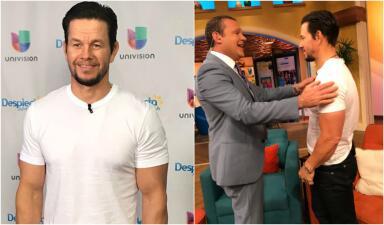 Mark Wahlberg presentó su película 'Daddy's Home 2' en Despierta América