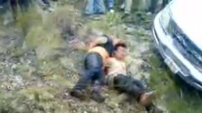 Venden video del linchamiento de tres personas en Chiapas