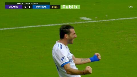 El argentino Ignacio Piatti no perdona y la manda a guardar,  Montreal ya gana 2-0 ante Orlando