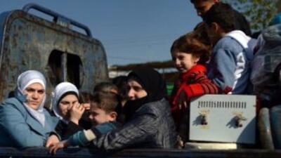 Denuncian uso de armas químicas en Siria