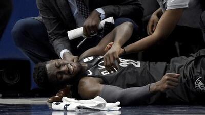 Caris LeVert de los Brooklyn Nets sale severamente lesionado