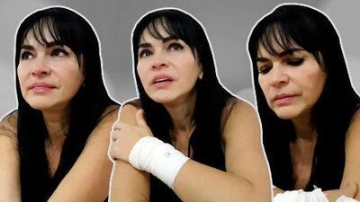 Exclusiva: actriz Sandra Montoya revela entre lágrimas los abusos sexuales que ha sufrido desde los 4 años