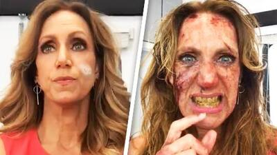 Este es el video de la transformación de Lili Estefan en zombi