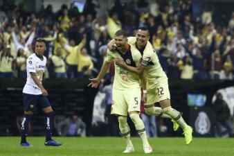 En fotos:  América va a la Final del Apertura 2018 tras hacer pedazos a los Pumas