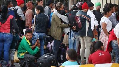 Detener una nueva gran caravana migrante se ha vuelto prioridad para el gobierno de México