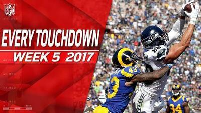 Todos los touchdowns de la Semana 5 | NFL Highlights