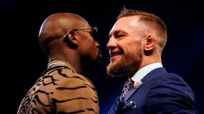 McGregor podría perder el 90% de su bolsa si le da un golpe ilegal a Mayweather
