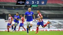 ¡Llegaron a 40 puntos! Cruz Azul vence 3-2 al Atlético de San Luis