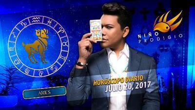 Niño Prodigio - Aries 20 de julio 2017