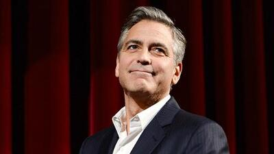 George Clooney el gran defensor de Obama