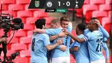 El City supera al Tottenham y gana el título de la Carabao Cup