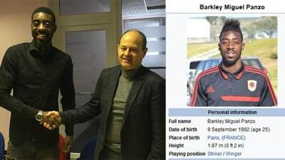 Por un perfil falso de Wikipedia, un club de Europa ficha a un futbolista africano